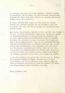 Ermittlungen in Dorpat über den Verbleib der Bibliothek Gens. Seite 2