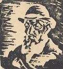 Benn, Kopf eines Alten, 1925
