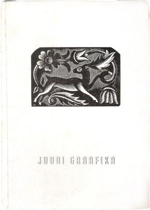 Juudi graafika. Katalog. Julius Genss